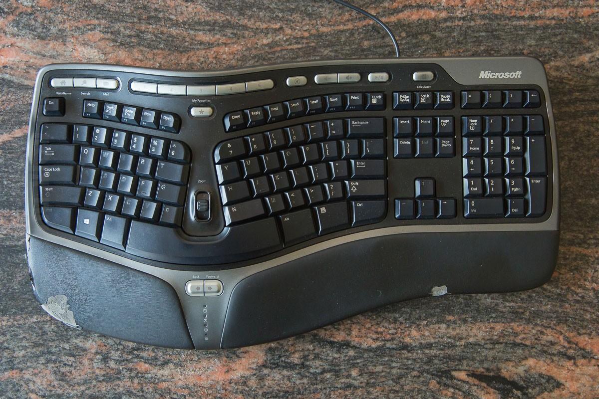 Клавиатура: natural ergonomic keyboard 4000   microsoft accessories.